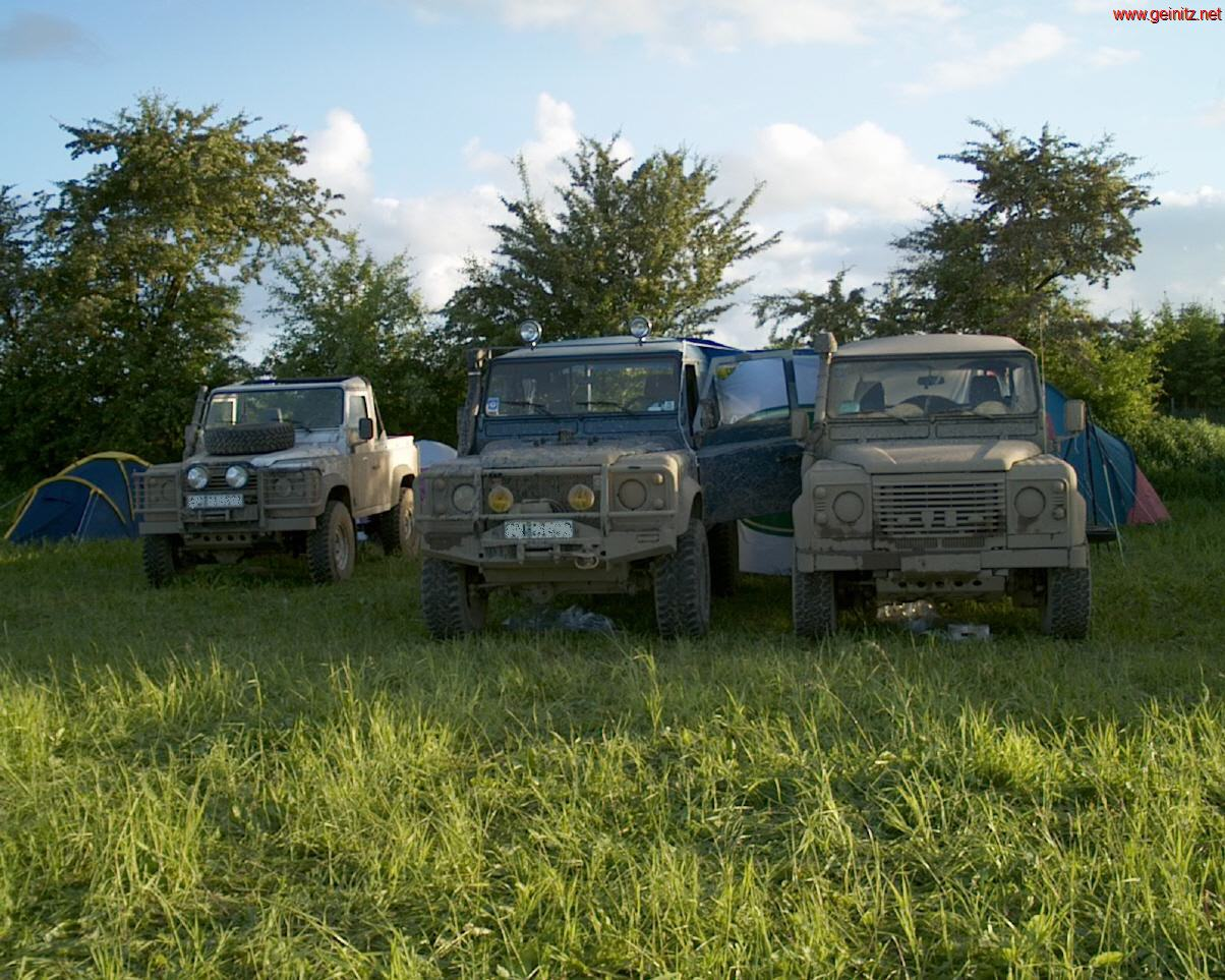 Unsere Land Rover